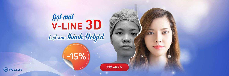 GỌT MẶT V-LINE 3D – LỘT XÁC THÀNH HOTGIRL [OFF 15%]