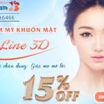 Thay đổi chân dung – Giấc mơ mở lối – OFF 15% Thẩm mỹ hàm mặt VLine 3D