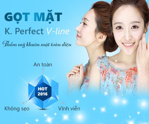 Gọt mặt Kangnam's Perfect Vline