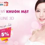 OFF 15% Thẩm mỹ khuôn mặt VLine 3D – Đẹp không góc chết