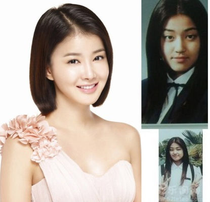 Lee Si Young co ve dep rang ngoi